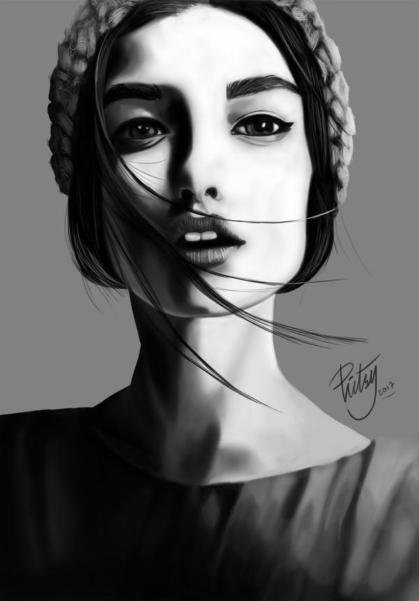 Face Study #2