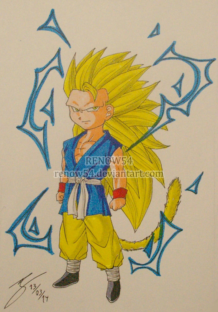 Chibi Goku Ssj3 Wwwpicturesverycom