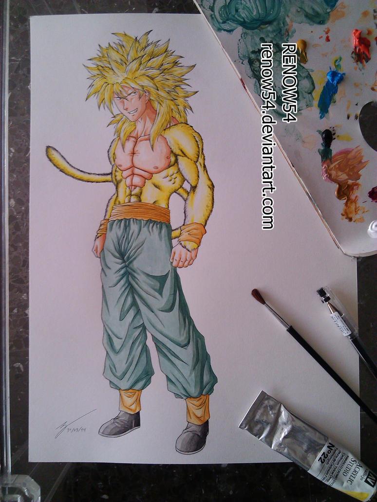Seinen Style - Realist Son Goku SSJ4 (DBNGT) by Renow54