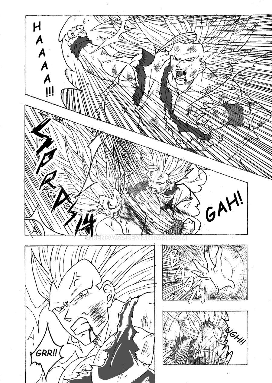 Goku SSJ3 VS Vegeta SSJ3 - Page 1/2 by Renow54