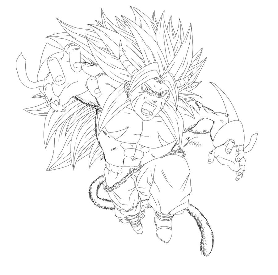 Bane Demon Super Saiyan -Request- by Renow54