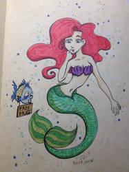 Ariel by ElfyneInWonderland