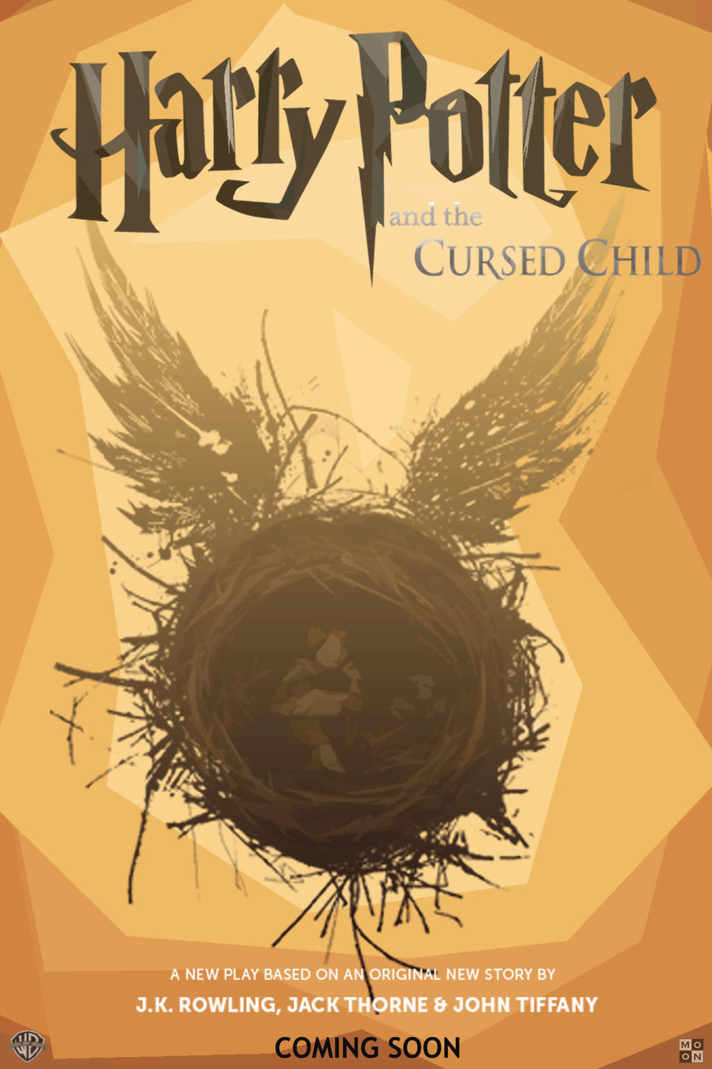 Harry Potter Cursed Child Book Cover ~ Harry potter and cursed child by monochromer on deviantart