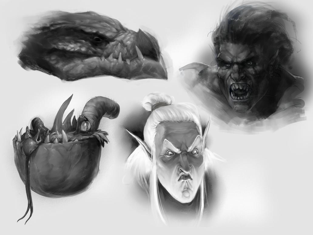 Sketches by TagoVanTor