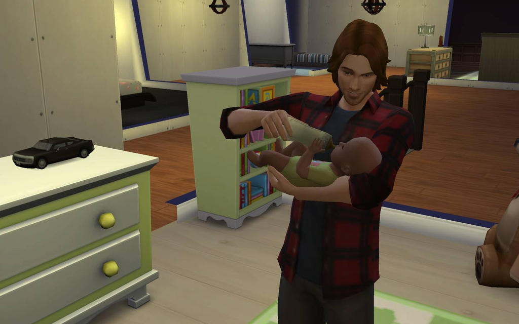 Supernatural sims- Sam's baby by Tokiogirl21