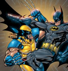 Wolverine vs. Batman by ArinSafea