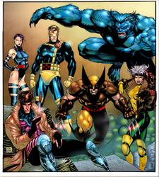 Advance Comics X-Men Cover