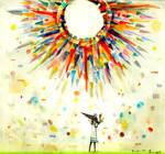 The sun and Kasako_man.