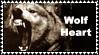 Wolf HEART Stamp - garvarg by WolfSpirits