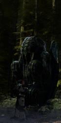 Strange Statue