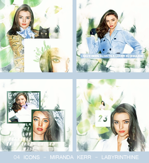 Icons Miranda Kerr by Aldiiii