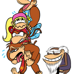 Donkey Kong Country characters by NatalieTheAntihero
