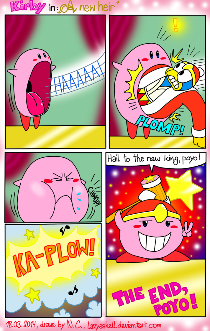 Kirby Comic - A new heir by NatalieTheAntihero