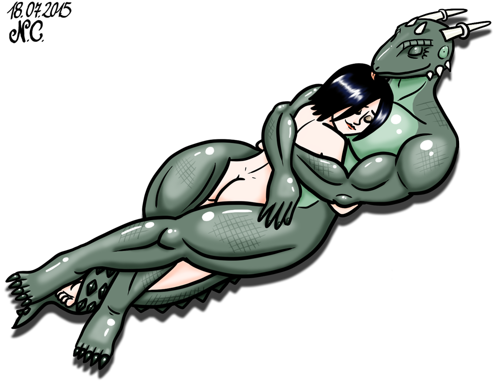 An Argonian for a bed by LazyAsHell