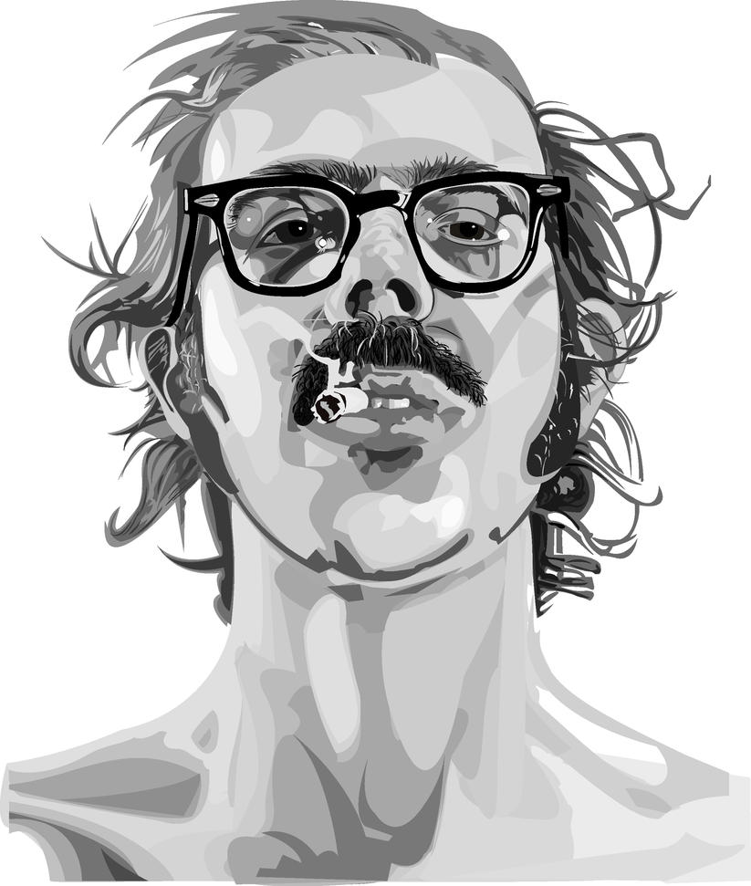 Chuck Close by visual-synthesis
