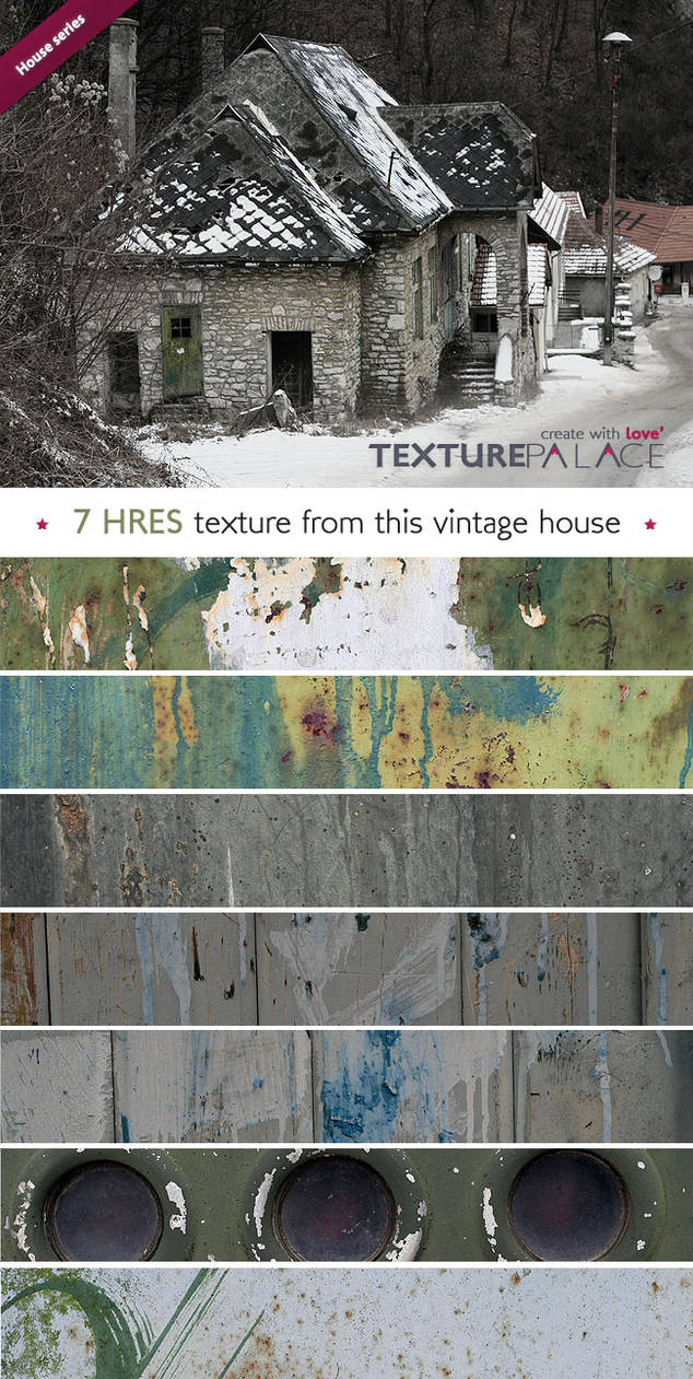 Old house series from TexturePalace-7 Hres texture