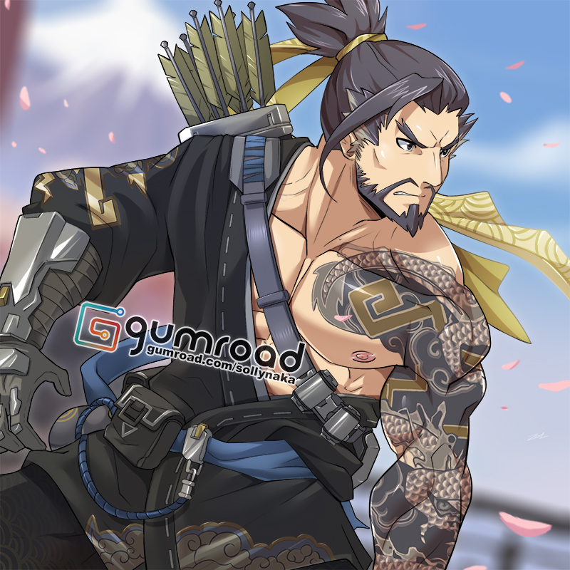 Hanzo Wallpaper: Hanzo FREE By Sollyz On DeviantArt