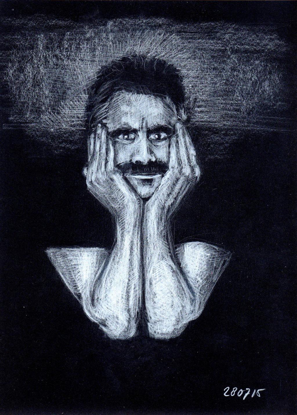 Selfportrait I by Joshua-Mozes