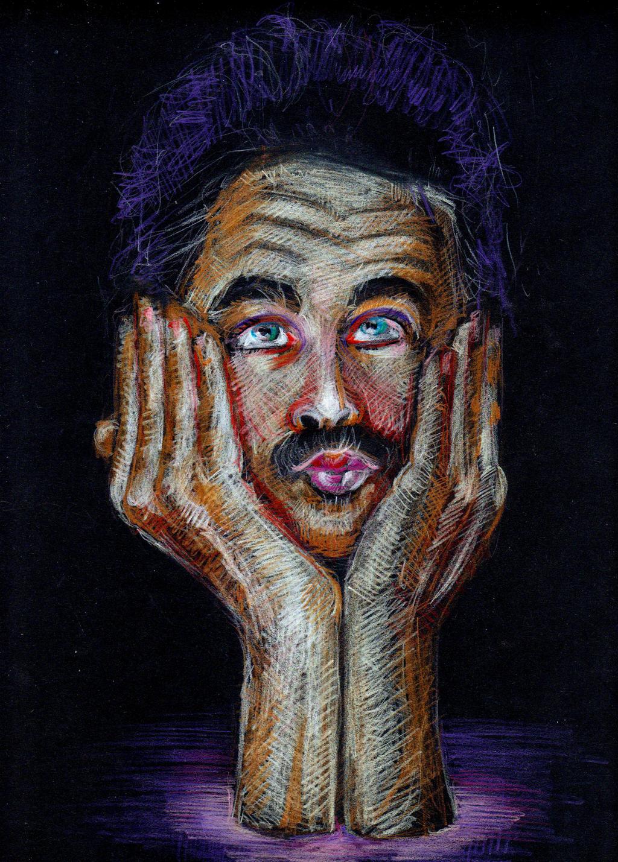 Selfportrait II by Joshua-Mozes