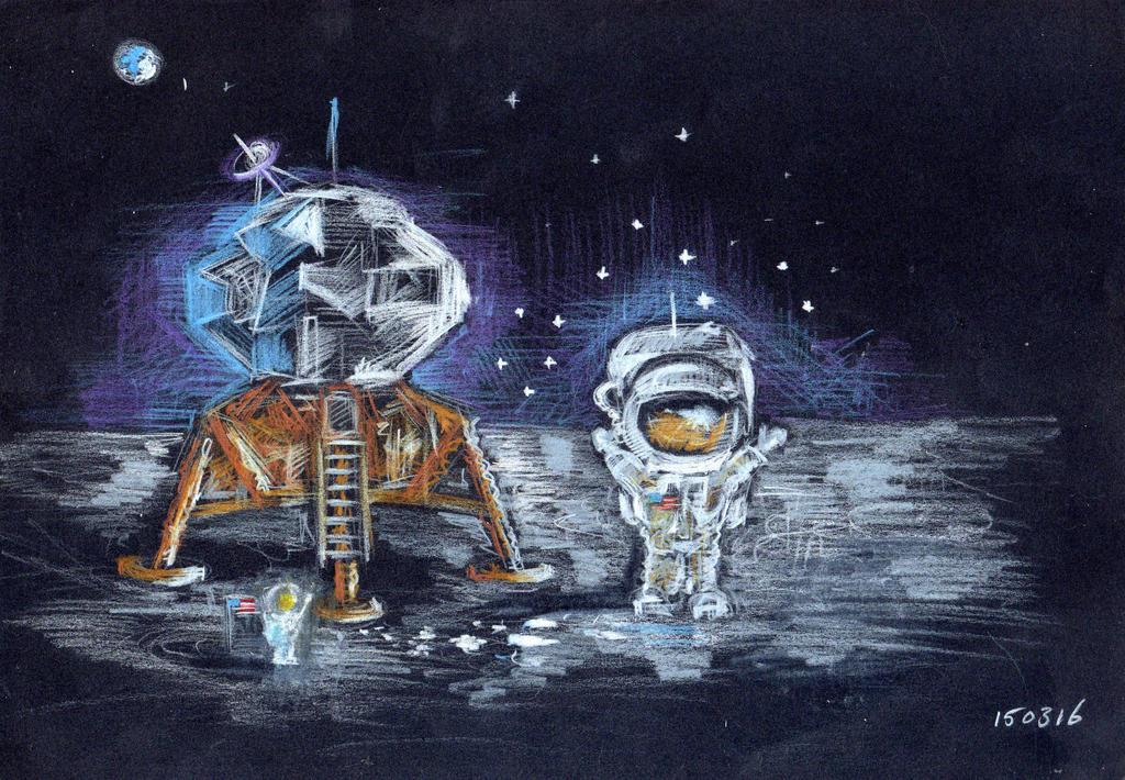 chibi astronaut - photo #14