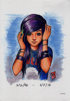 Christina Grimmie (Copic Markers)
