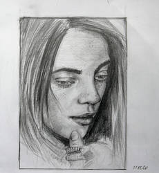 Billie Eilish Billboard sketch