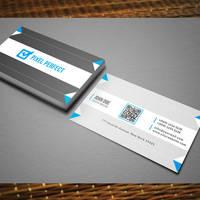 Clean Creative Business Card by maruf1