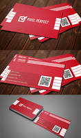 Corporate Minimal Business Card by maruf1