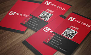 Corporate Double Sided Business Card by maruf1