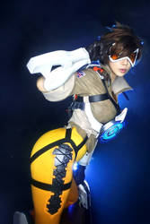 OVERWATCH TRACER by SpiralCats