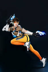 OVERWATCH TRACER 1 by SpiralCats