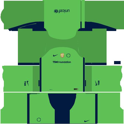 76dbaa9b7 FC TBM 18-19 GK Away Kit for DLS18 by dovald17 on DeviantArt