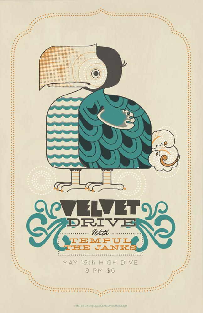 Velvet Drive by chibighibli