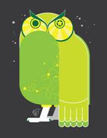 Owl by chibighibli