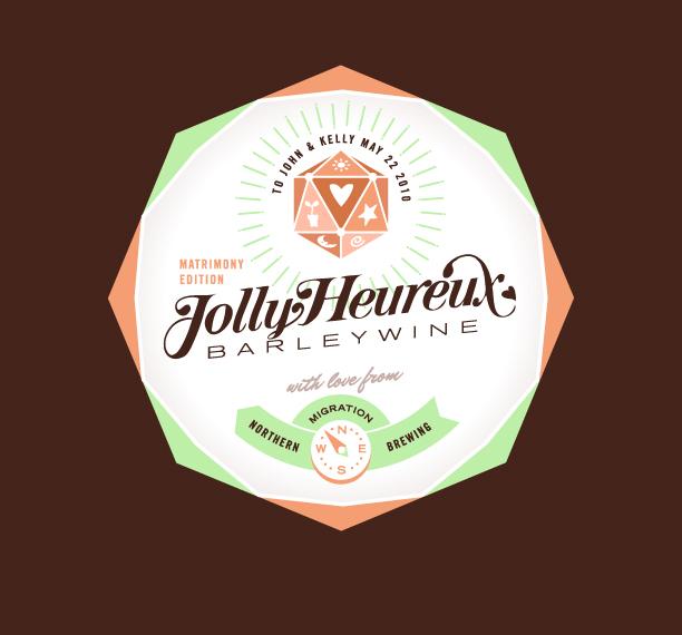 Jolly Heureux Barleywine by chibighibli