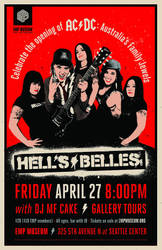 AC/DC Hell's Belles at EMP Museum by chibighibli