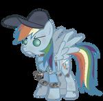 Rainbow Dash - Mann Vs. Machine Update