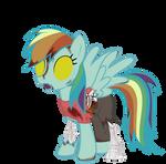 Rainbow Dash - Spectral Halloween Special