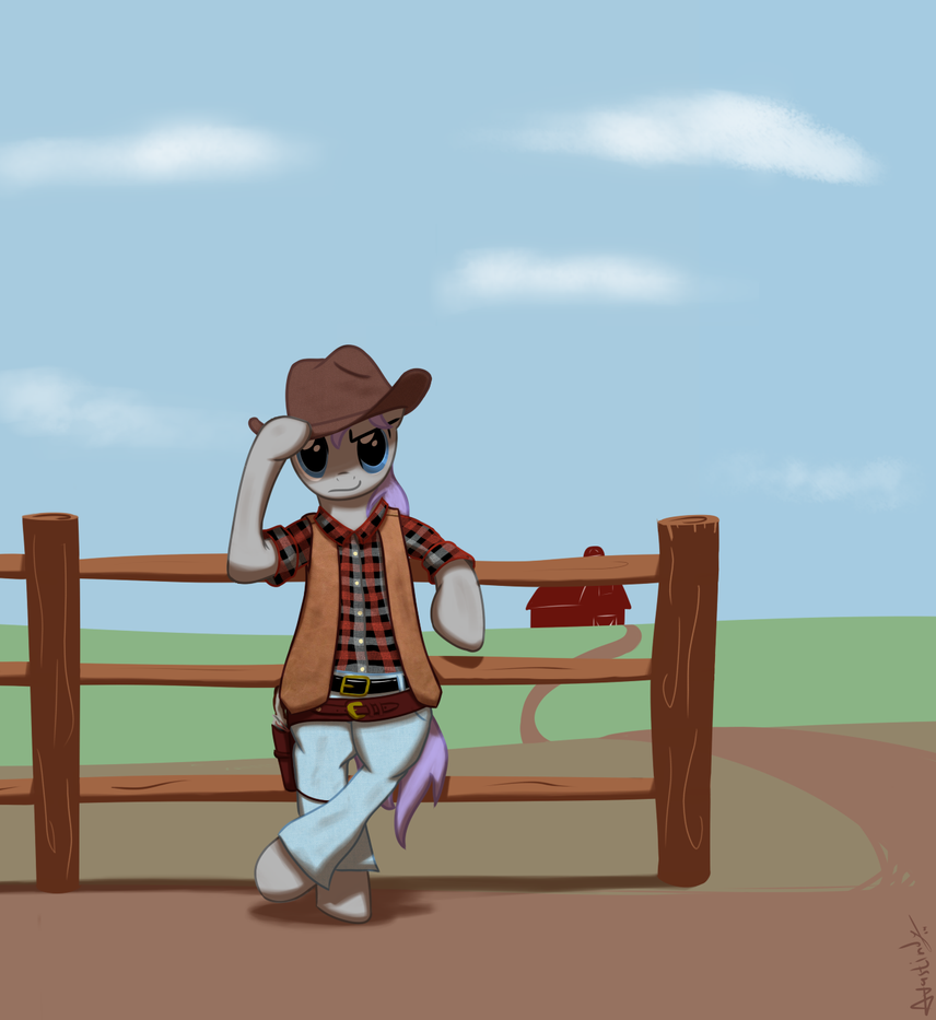 Sparks the Cowboy by Avastindy