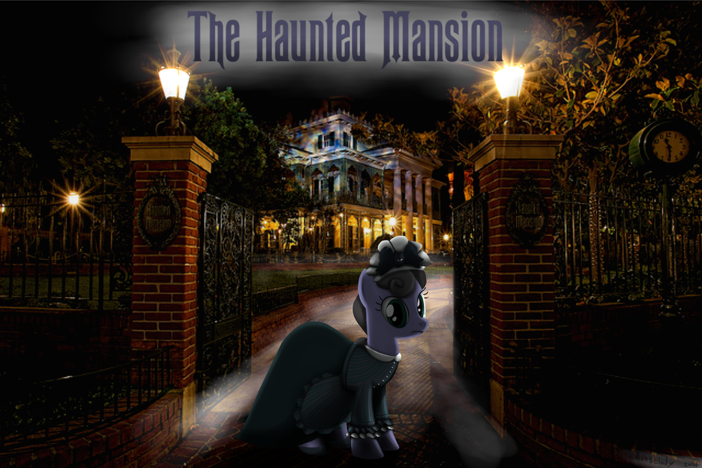 The Haunted Mansion Hostess by Avastindy