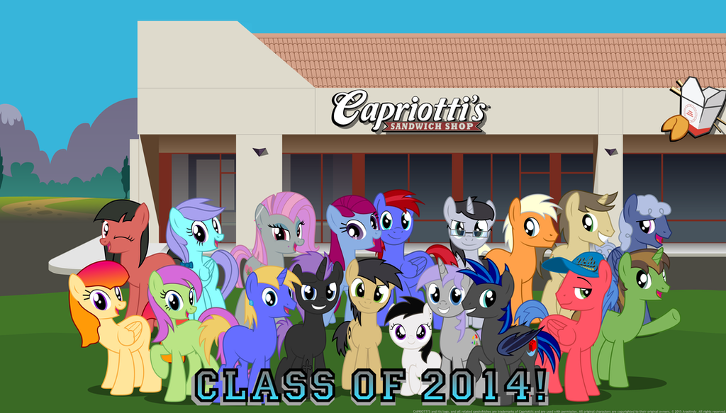 Capriotti's Class of 2014 by Avastindy