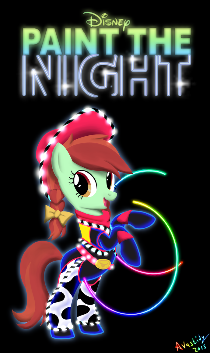 Paint The Night - Cowgirl by Avastindy