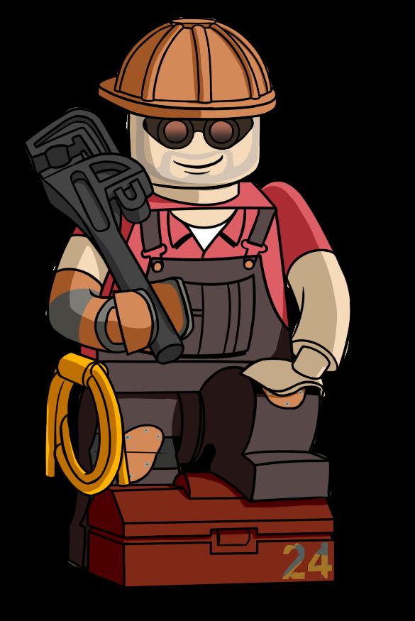 Lego Engineer by Avastindy on DeviantArt