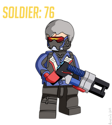 Lego Soldier 76