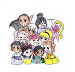 Chibi Princesses 2 - Hobbes918