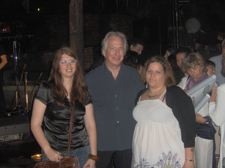 Me, Alan Rickman and Asmodai by queenseptienna