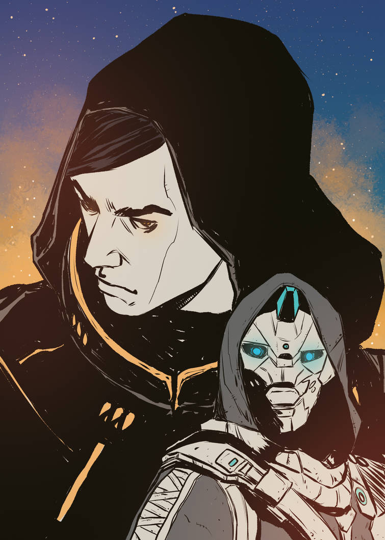 Uldren Sov and Cayde 6