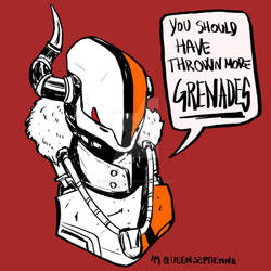 You should have thrown more grenades - Lord Shaxx