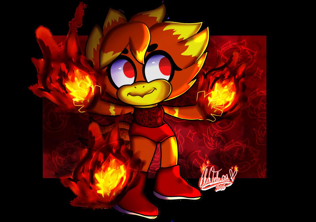 fire burning by ToxicGlitz
