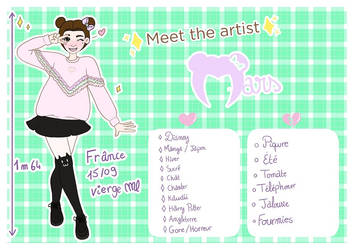Meet the artist by the-marou